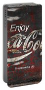 Coca Cola Grunge Sign Portable Battery Charger