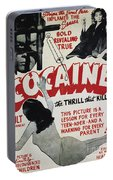 Cocaine Movie Poster, 1940s Portable Battery Charger