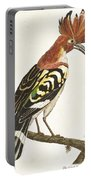Cock Hoopoe Portable Battery Charger