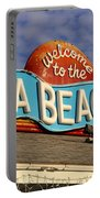 Cocoa Beach Pier Sign Portable Battery Charger