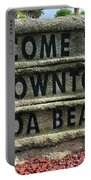 Cocoa Beach Welcome Sign Portable Battery Charger