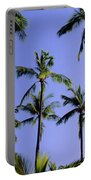 Coconut Grove At Wailua Portable Battery Charger