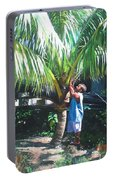 Coconut Shade Portable Battery Charger