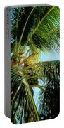 Coconut Tree Portable Battery Charger