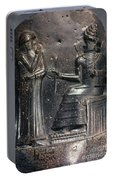 Code Of Hammurabi (detail) Portable Battery Charger