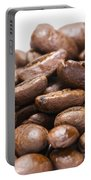 Coffee Beans Closeup Portable Battery Charger