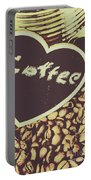 Coffee Heart Portable Battery Charger