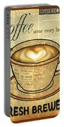 Coffee Love-jp3595 Portable Battery Charger