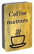 Coffee Matters Portable Battery Charger