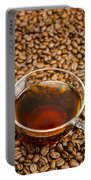 Coffee On Roasted Beans Portable Battery Charger