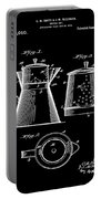 Coffee Pot Patent 1916 Black Portable Battery Charger