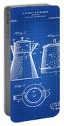 Coffee Pot Patent 1916 Blue Print Portable Battery Charger
