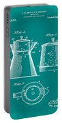 Coffee Pot Patent 1916 Green Portable Battery Charger