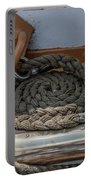 Coiled Rope Portable Battery Charger