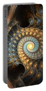 Coiled Spirals Portable Battery Charger