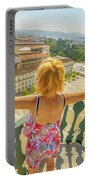 Coimbra Aerial Woman Portable Battery Charger