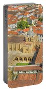 Coimbra Cathedral Aerial Portable Battery Charger