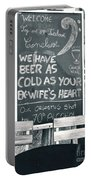 Cold Beer Portable Battery Charger