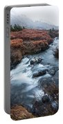 Cold Creek In Autumn Portable Battery Charger