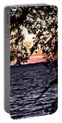 Cold Florida Sunset Portable Battery Charger