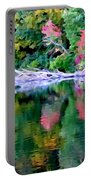 Cold Spring Harbor Reflections Portable Battery Charger