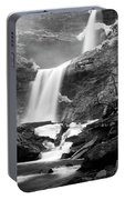 Cold Spring Morning At Kaaterskill Falls II Portable Battery Charger