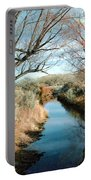 Cold Western Scene Portable Battery Charger