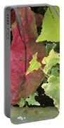 Coleus And Ivy Portable Battery Charger