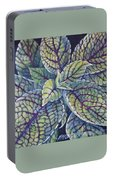 Coleus Leaves Portable Battery Charger