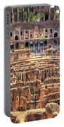 Coliseum In Rome Portable Battery Charger