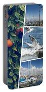 Collage Of Cyprus Images Portable Battery Charger