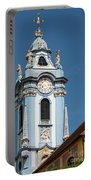 Collegiate Church Blue Tower Portable Battery Charger