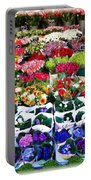 Cologne Flowers Portable Battery Charger
