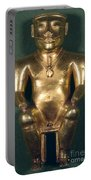 Colombia: Gold Figure Portable Battery Charger