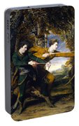Colonel Acland And Lord Sydney The Archers Portable Battery Charger