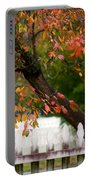Colonial Fall Colors Portable Battery Charger