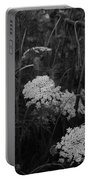 Colonial Garden At Twilight Portable Battery Charger