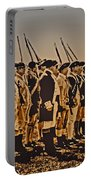 Colonial Soldiers On Parade Portable Battery Charger