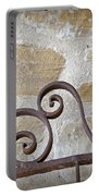 Colonial Wrought Iron Gate Detail Portable Battery Charger