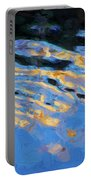 Color Abstraction Lxiv Portable Battery Charger