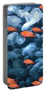 Color And Colorless Fish Portable Battery Charger