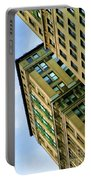 Color Buildings Architecture New York  Portable Battery Charger
