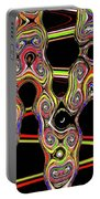 Color Circles Abstract Portable Battery Charger
