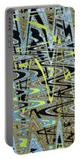 Color Combo Abstraction Portable Battery Charger