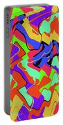 Color Drawing Abstract #3 Portable Battery Charger
