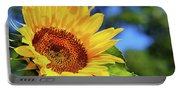 Color Me Happy Sunflower Portable Battery Charger