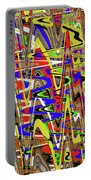 Color Mix Fun Abstract Portable Battery Charger