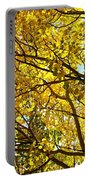 Colorado Aspens In Fall Portable Battery Charger