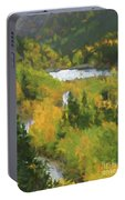 Colorado Lake And Colors Portable Battery Charger