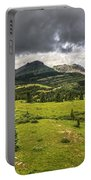 Colorado Mountains After Summer Rain Portable Battery Charger